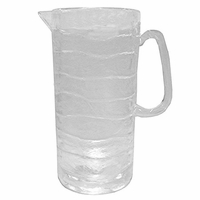 Glacier Frosted Acrylic Pitcher - 3 Qt.