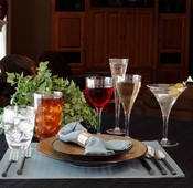 Grand Unbreakable Polycarbonate Plastic Glassware & Stemware