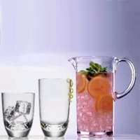 Grand Unbreakable Polycarbonate Tumblers & Pitcher Set