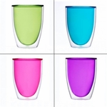 Keep-Kool Double Wall Acrylic 14 Oz. Tumbler Set/4