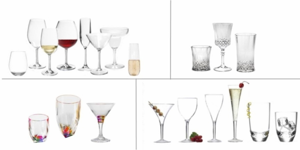 ACRYLIC, POLYCARBONATE & TRITAN  DRINKWARE BY COLLECTION