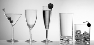 ACRYLIC, TRITAN, & POLYCARBONATE GLASSWARE BY SHAPE & FUNCTION
