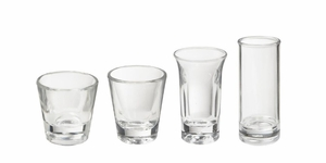 Plastic Shot Glasses and Shooter Glasses