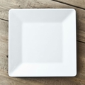 QSQuared Diamond White Square Melamine Serving Platter 14-1/2 In.