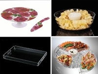 Serving Trays, Cake Plates,  Chip & Dips
