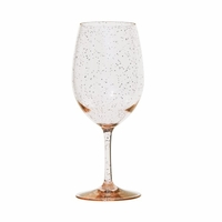 Sonoma Gold Glitter Unbreakable BPA-Free Wine Glass - 20 Oz.