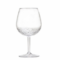 Sonoma Hammered Unbreakable Classic Bubble Wine Glass