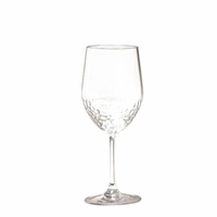 Sonoma Hammered Unbreakable Classic White Wine Glass