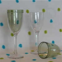 Thermal Insulated Plastic Wine Glass