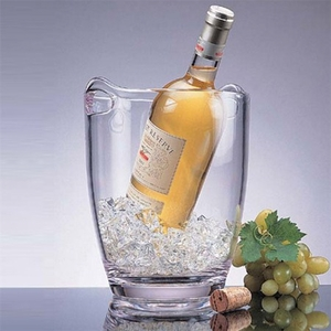Thick Walled Acrylic Wine or Champagne Ice Bucket