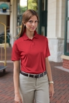 24/7 Lifestyle Women's Polo Shirt: Moisture Wicking Shrink Resistant Performance (361)