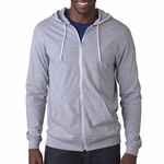 6 oz., 100% Sofspun� Cotton Jersey Full-Zip