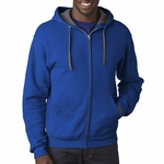 7.2 oz. Sofspun™ Full-Zip Hooded Sweatshirt: (SF73R)