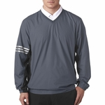 A147 Adidas Men's ClimaLite® Color Block V-Neck Windshirt