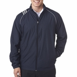 A169 Adidas Men's 3-Stripes Full-Zip Jacket