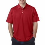 A170 Adidas Men's ClimaLite® Textured Solid Polo