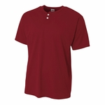 A4 Men's Henley: (N4130)