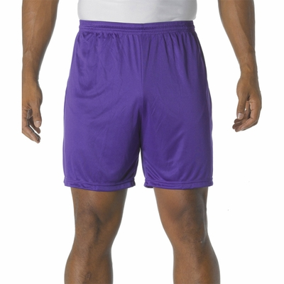 A4 Men's Shorts: 100% Polyester Interlock Cooling Performance 7-Inch Inseam (N5244)