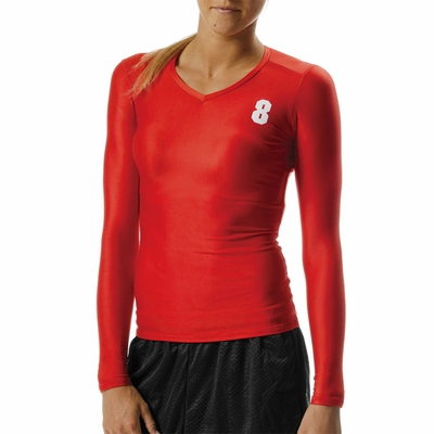 A4 Women's Compression T-Shirt: (NW3198)