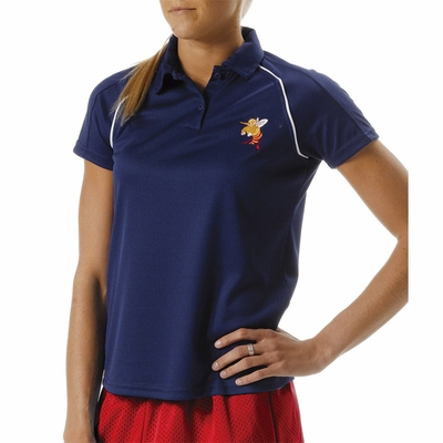 A4 Women's Polo Shirt: (NW3197)