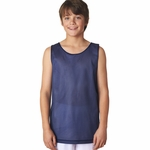 A4 Youth Tank Top: 100% Polyester Reversible Mesh (N2206)