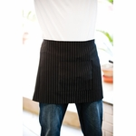 Adams Aprons Apron: One Pocket Pinstripe Waist (AP15)