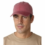 Adams Cap: 100% Cotton Essentials Pigment-Dyed (EP101)