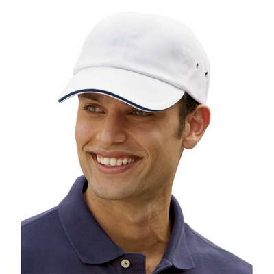 Adams Cap: 100% Cotton Heavyweight Contrast Trim Twill (CT102)