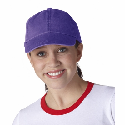 Adams Cap: 100% Cotton Solid Pigment-Dyed Optimum (LP101)