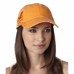Adams Headwear Cap: 100% Cotton Pigment Dyed w/ Adirondack Chairs Pattern (LPAC1)