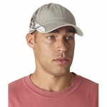 Adams Headwear Cap: 100% Cotton Pigment Dyed w/ Snowboarder Pattern (LPSB1)