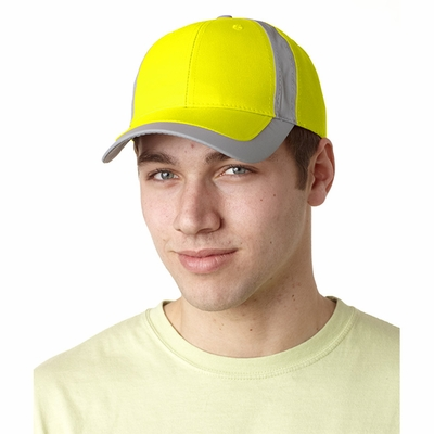 Adams Headwear Cap: 6-Panel w/ Reflective Stripe (RF102)