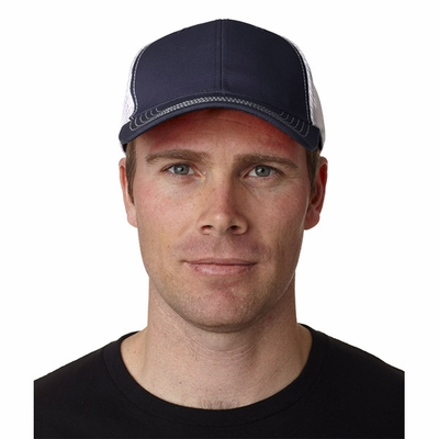 Adams Headwear Cap: Fairway Structured Two-Tone w/ Mesh Back Panels (FA102)