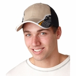 Adams Headwear Cap: Intimidator Two-Tone w/ Sandwich Visor (IT102)