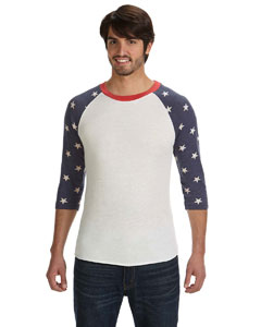 Alternative Men's Baseball T-Shirt: (AA2089)