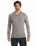 Alternative Men's V-Neck Sweatshirt: (09594EC)
