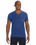 Alternative Men's Leo V-Neck T-Shirt With Pocket: (42196BB)
