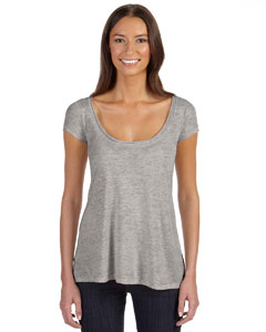 Alternative Women's Short-Sleeve Drape Top: (02668B2)