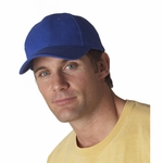 Anvil Cap: 100% Cotton 6-Panel Brushed Twill (136)