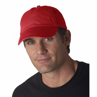 Anvil Cap: 100% Cotton Twill 6-Panel Low-Profile (156)