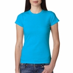 Anvil Junior Women's T-Shirt: 100% Cotton Ringspun Semi-Sheer (379)