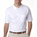 Anvil Men's Polo Shirt: (6003)