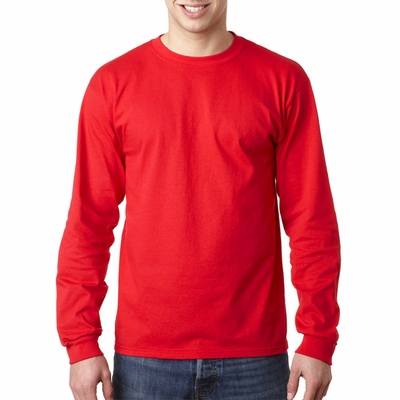 Anvil Men's T-Shirt: 100% Cotton Long-Sleeve Heavyweight (749)
