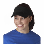 Anvil Visor: 100% Cotton Solid 3-Panel Twill (158)