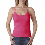 Anvil Women's Tank Top: 100% Cotton Semi-Sheer Spaghetti-Strap (325)