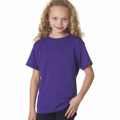 Anvil Youth T-Shirt: 100% Cotton with TearAway Label (705B)