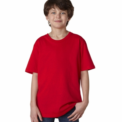 Anvil Youth T-Shirt: 100% Organic Cotton Short-Sleeve (OR420B)