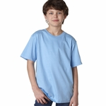 Anvil Youth T-Shirt: 100% Organic Cotton Short-Sleeve Tearaway (490B)
