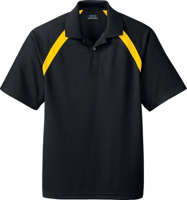 Ash City Men's Polo Shirt: Eperformance Color-Block Pique (85104)