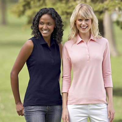 Ash City Women's Polo Shirt: (75029)